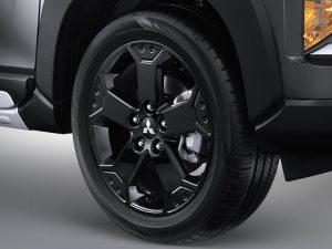 Black Paint Alloy Wheel
